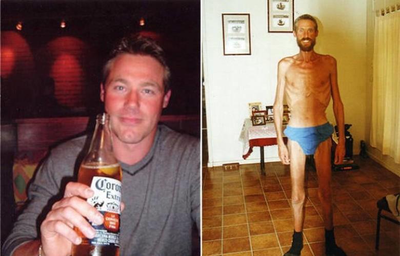 Рики Меги В 2001 году австралийские фермеры нашли мужчину, который больше походил на скелет, обтянутый кожей. Он не помнил толком, как оказался один на один с природой, а его воспоминания представляли собой бессвязные обрывки: вот он едет по малонаселенной местности на авто, а вот он лежит лицом вниз, присыпанный землей, а вокруг него носится стая динго. Несколько дней он скитался в поисках людей, пока, в конце концов, не решил остановиться. Он построил шалаш, в котором жил следующие три месяца, питаясь кузнечиками, пиявками и лягушками.
