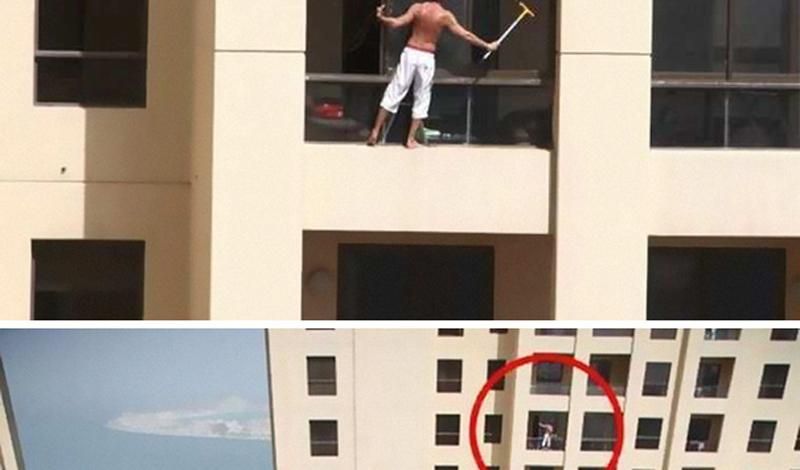 И не так уж любят мыть окна
