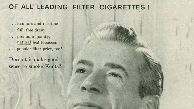 Сигаретные фильтры Ряд табачных компаний включил асбест в число ключевых элементов сигаретного фильтра. Это происходило на волне поднявшегося в 1950-х годах табачного бума: производители пытались убедить потребителей, что сигареты с фильтром — абсолютно безопасны. Наиболее циничны оказались пиарщики Kent, пустившие в продажу 13 миллиардов сигарет с фильтром из наиболее опасного вида асбеста, крокидолита.