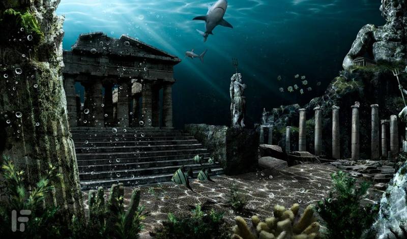 Платон и его государство Многие ученые полагали, что Платон описал эту вымышленную цивилизацию в качестве некой иллюстрации своих политических теорий. Философ описал город как крупную конгломерацию высокоразвитых племен, пользующихся большим уважением соседей за счет своего огромного флота. Согласно Платону, цари Атлантиды были потомками самого Посейдона и успели завоевать большую часть Западной Европы и Африки, до того, как случилась катастрофа.