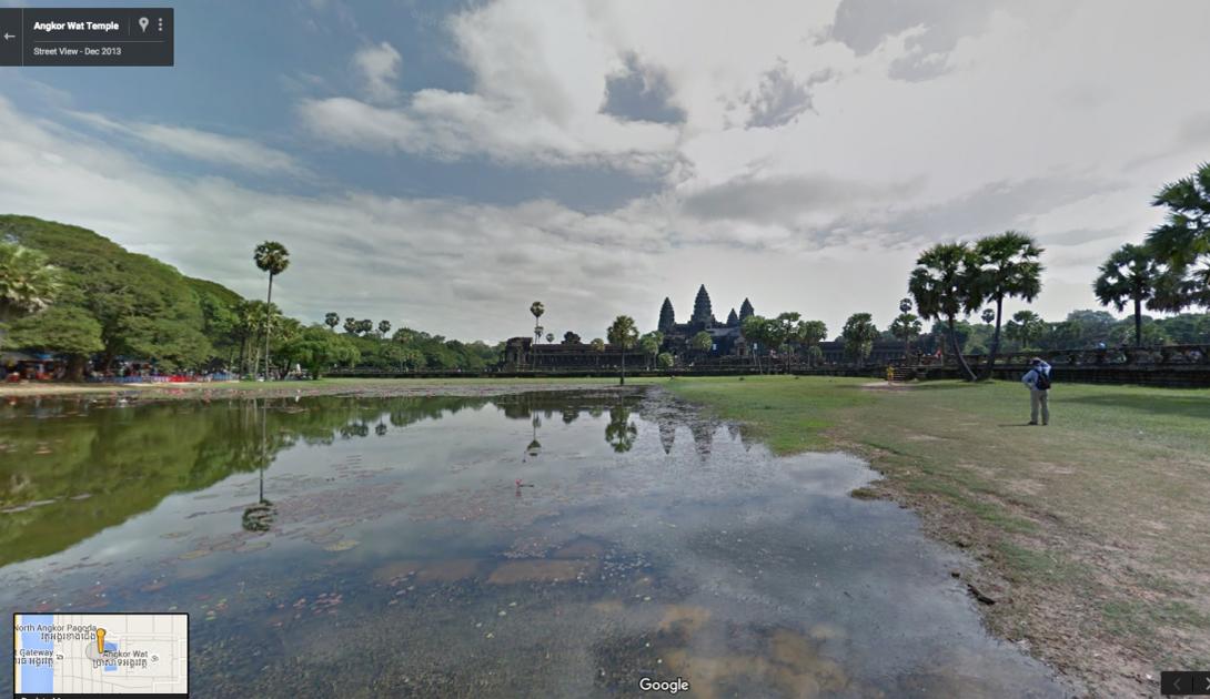 Величественный Ангкор-Ват, Камбоджа — останки двух разных столиц кхмерской империи, существовавшей с 9 по 15 век.