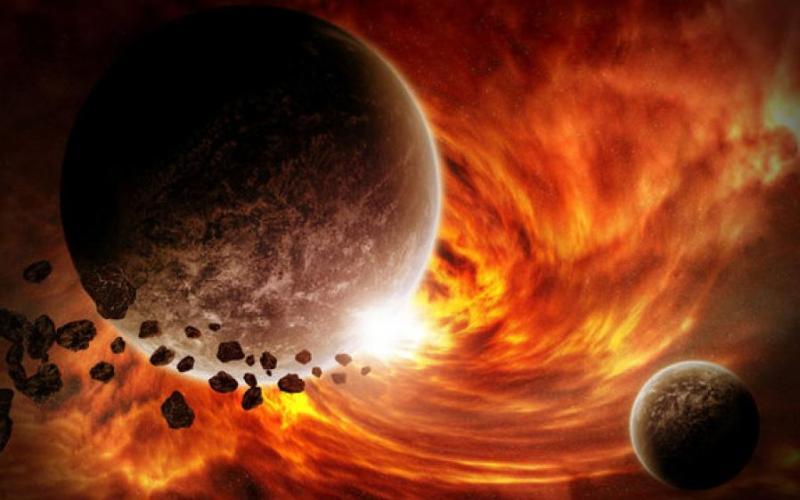 Забросить на Солнце Понадобятся такие же ракетные двигатели, как и в случае с гигантской черной дырой. Даже не придется точно целиться – достаточно, чтобы Земля придвинулась к Солнцу на достаточно близкое расстояние, а затем приливные силы разорвут ее на части. Причем, может оказаться так, что для этого не понадобятся специальные технологии: случайный объект, вынырнувший из космоса, может подтолкнуть Землю в нужном направлении. Тогда планета превратится в подобие шарика мороженного, тающего на жарком солнце. Но если отбросить случайные факторы, человечество придет к нужным технологиям не раньше 2250-го года.