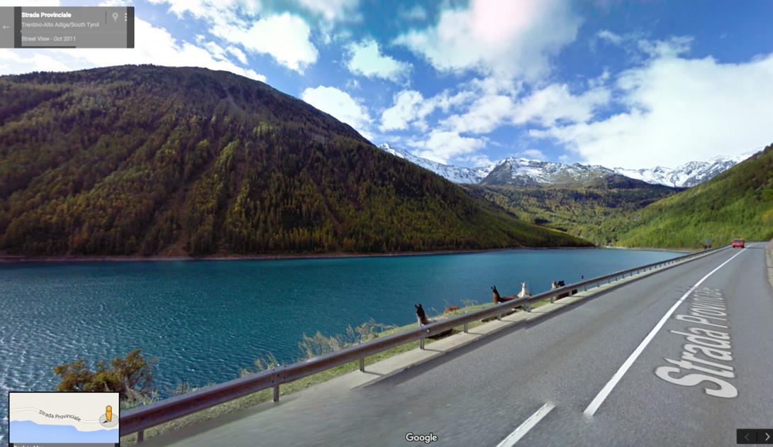 Страда Провинциале, Италия — одно из лучших мест спокойного отдыха.