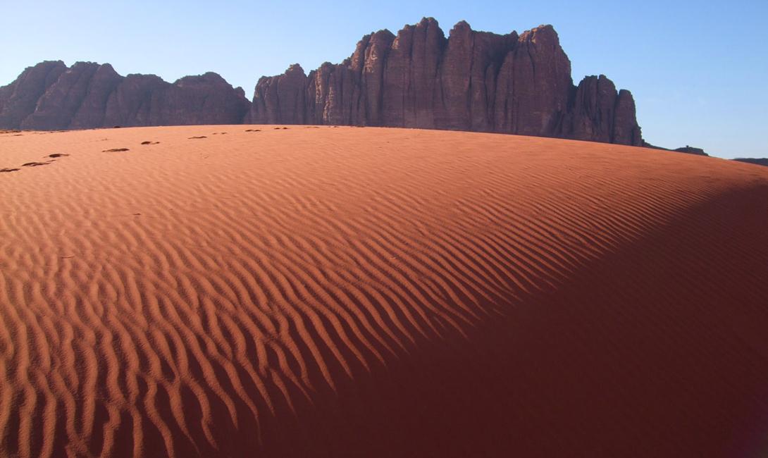 Меккой для туристов Вади Рам стала уже давно: именно здесь снимался знаменитый «Лоуренс Аравийский».