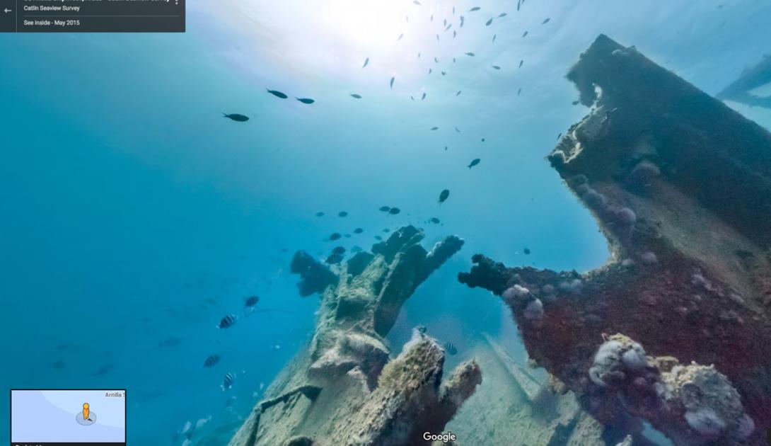 Немецкий сухогруз СС «Антилла» затонул у берегов Аруба в 1940 году, но вы все еще можете посетить его ржавую палубу.