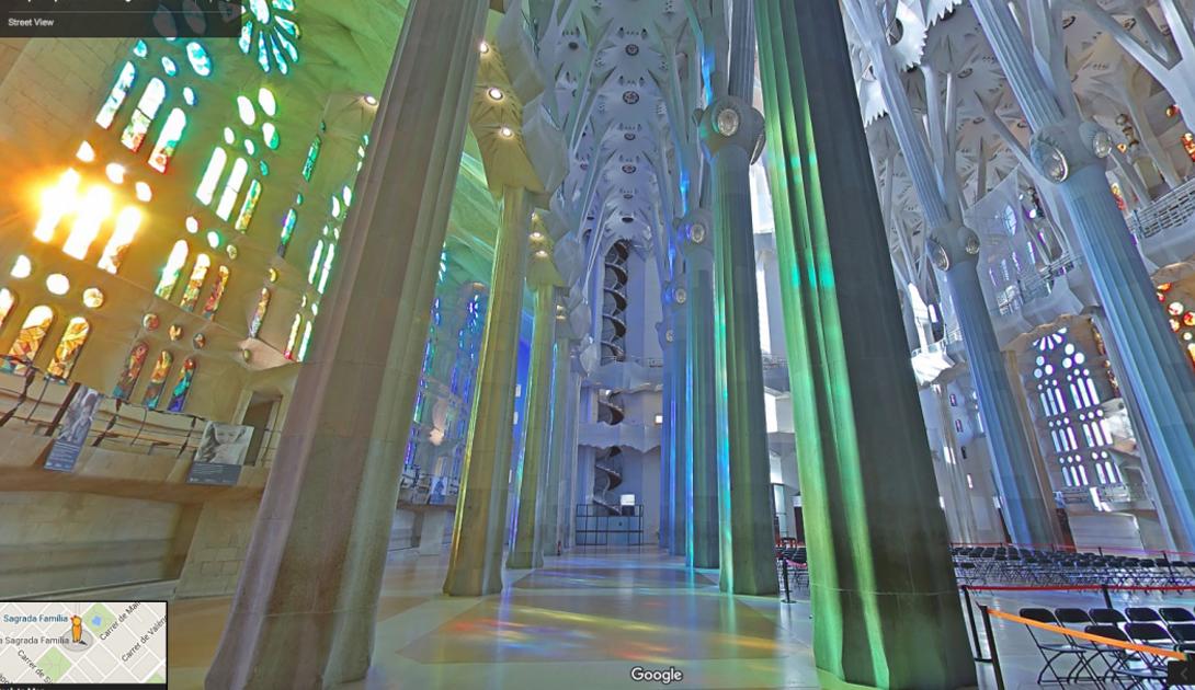 Первый камень в основание Саграда Фамилия был заложен еще сто лет назад. Внутри самой знаменитой церкви Испании царит инфернальная красота.