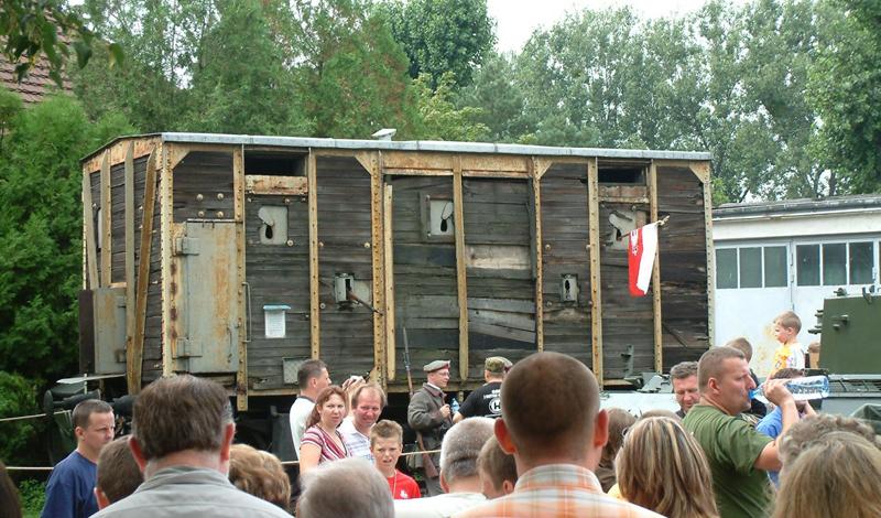 Некоторые из самых старых проектов еще остались в Польше. Этот вагон использовался народным ополчением во время Первой мировой войны.