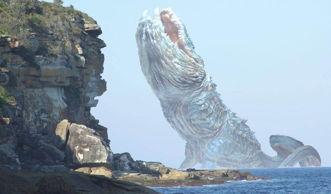 Левиафан Библейский Левиафан, монстр с горящими глазами, должен выйти из моря, дабы покарать грешников. Его огромное тело и чешуйчатая кожа заставляет моряков думать о гигантском змее, встреча с которым губительна для любого корабля. Левиафан несколько раз упоминается в Ветхом Завете.