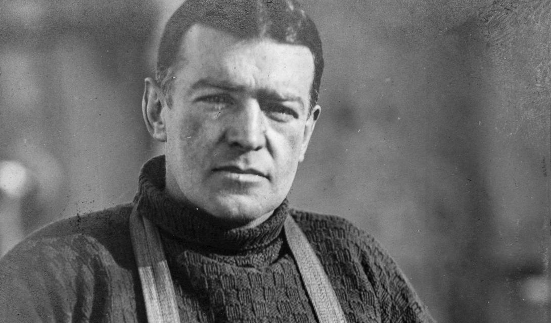 Эрнст Шеклтон, глава Имперской Транс-Антарктической Экспедиции.