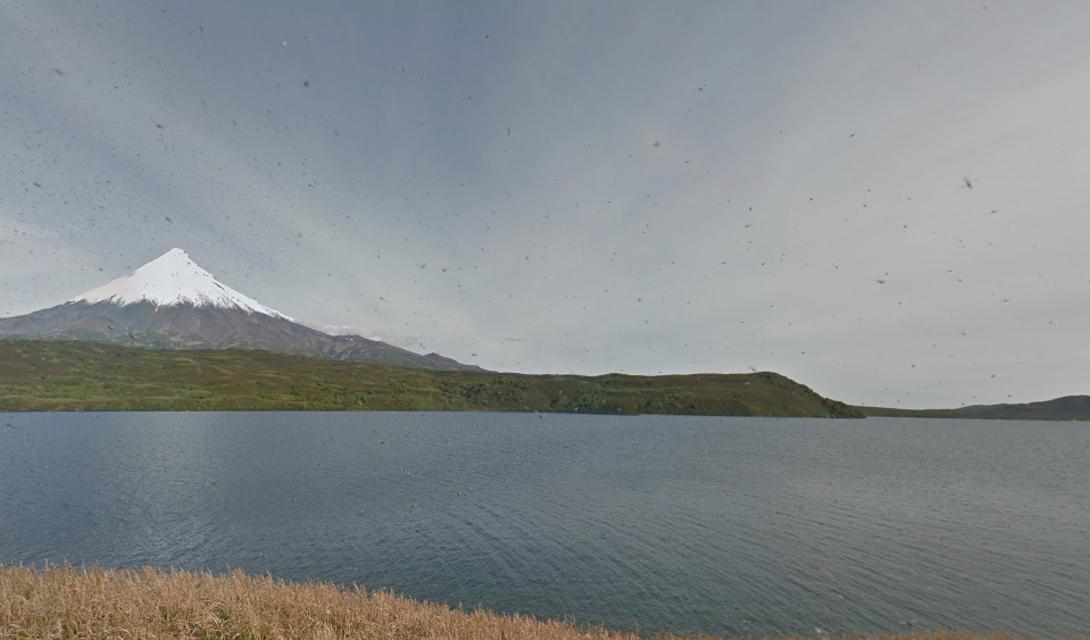 Кроноцкое озеро, остров Зеленый.