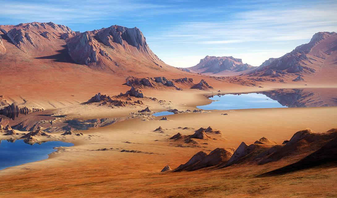 Люди никак не могут понять скорости, с которой меняется климат. Всего за пару тысяч лет Сахара превратилась из оазиса в раскаленную пустошь. Это может случиться где угодно. — Рассел Вин, экзобиолог.