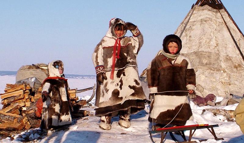 Манси Численность: 12 453 человека Это племя никогда не уходило со своих родных мест: манси до сих пор живут на территории Ханты-Мансийского автономного округа. Охотники манси даже заходят в города, чтобы продать мясо и шкуры животных.