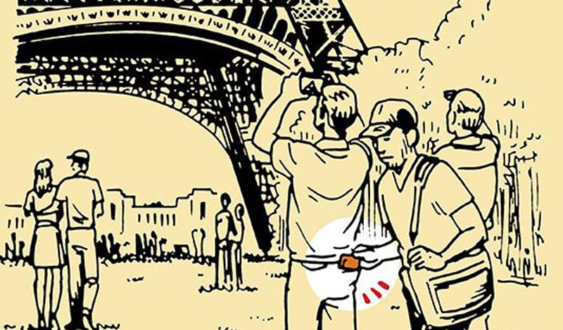 В чужой стране Туристические города всегда полны карманников. Раззява-путешественник, который наверняка имеет при себе значительную сумму денег — лакомый приз для любого вора. Поэтому хотя бы постарайтесь не вести себя как турист. Не носите одежду дорогих брендов, не пяльтесь в карту посреди оживленной улицы и не доверяйте первому попавшемуся доброму гражданину, так вежливо предлагающему вам свою помощь. Постарайтесь слиться с толпой и тогда воры, скорее всего, вас просто не заметят. Держите минимум денег в своем бумажнике, а кредитную карту прячьте в передний карман брюк.