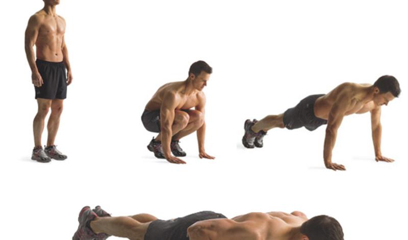 Берпи 1,43 калории в минуту: берпи может поспорить со спринтом в самые сжатые сроки. К тому же, никто не собирается работать в таком низком темпе. Средний человек способен примерно на 10 берпи в минуту, что дает нам уже внушительные 14, 3 калории. Попробуйте начать с трех-четырех минутных подходов — и можете забыть о беге.