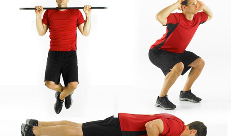 Синди Целый комплекс упражнений кроссфита рассчитан всего на двадцать минут. Суть в том, что вы должны, последовательно и без перерыва между упражнениями подхода, выполнить 5 подтягиваний, 10 отжиманий и 15 прыжков. Чем больше раундов успеешь сделать за двадцать минут — тем больше толку. В среднем, тренирующийся тратит около 13 калорий в минуту.