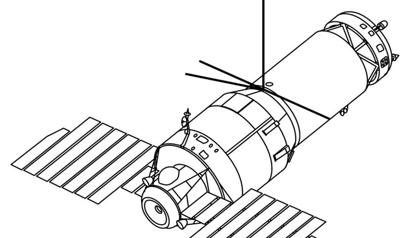 Конец проектаО существовании проектов «Картечь» и «Алмаз» стало известно уже после развала Советского Союза. По данным официальных источников, космическая пушка была установлена на еще одну станцию — «Салют-3». Последние испытания «Картечи» прошли 24 января 1974 года, а в скором времени «Салют-3» сошел с орбиты. Судя по опубликованной информации, инженерам так и не удалось решить одну из главных проблем ведения войны в космосе: отдача пушки была столь высока, что космонавтам приходилось включать все двигатели для ее компенсации.