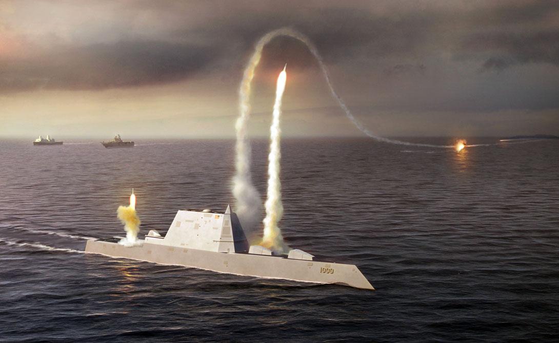 Замволт: как устроен первый в мире корабль-невидимка