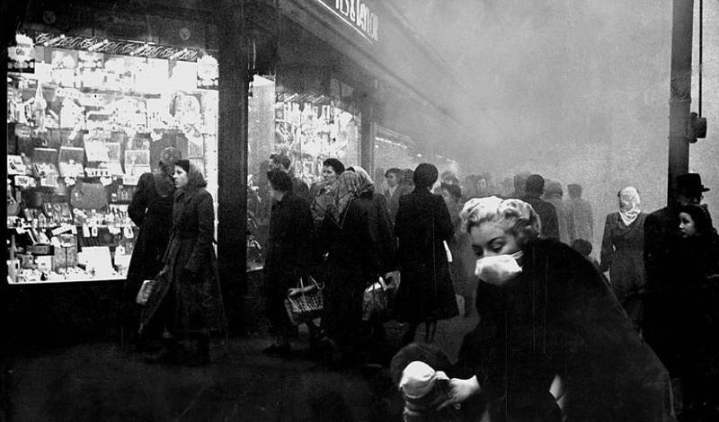 Ветер перемен Смог продержался в городе четыре дня и сгинул 9 декабря, благодаря очередной смене погоды. Лондонцы отметили густоту и плотность тумана, а затем вновь вернулись к повседневной общественной жизни. Никаких исследований и проверок проведено не было. Как выяснилось чуть позднее — очень зря.