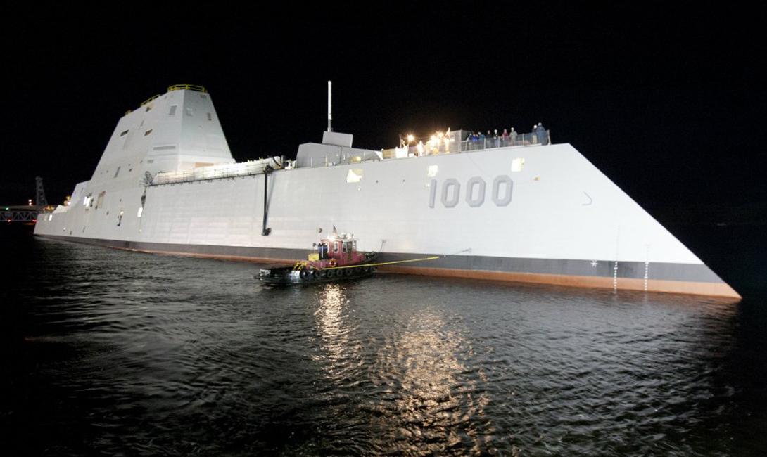 USS Zumwalt Стоимость: $ 7 млрд Продвинутая система автоматизации, установленная на USS Zumwalt, позволила снизить численность команды до минимума. Набитый до краев новейшими технологическими разработками «Замволт» должен стать основным боевым кораблем США на следующие пару десятков лет — если, конечно, бюджета хватит.