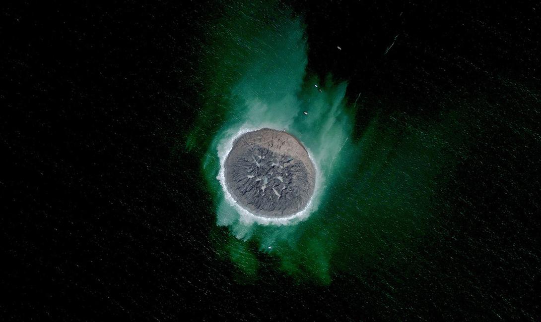 Побережье Гвадар, Пакистан Этот новый остров был создан в результате глобального землетрясения