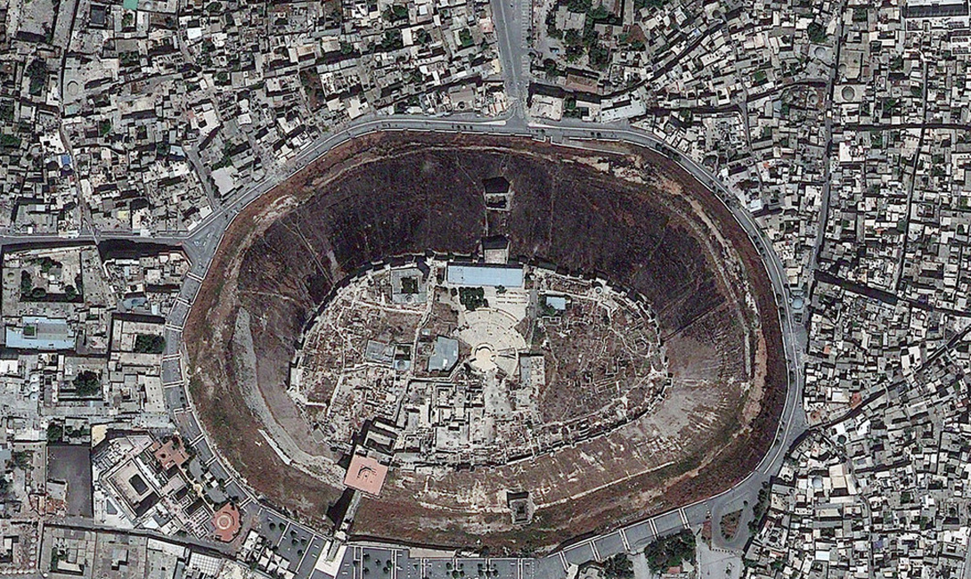 Сирия Цитадель Алеппо — средневековый укрепленный дворец