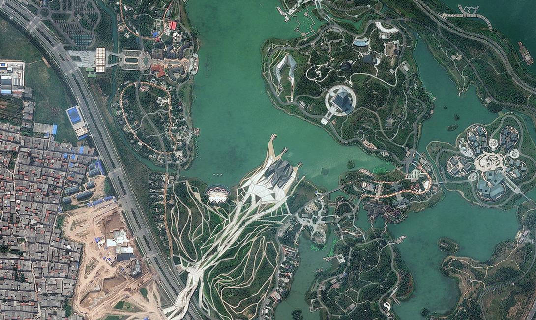 Китай Шиюань парк