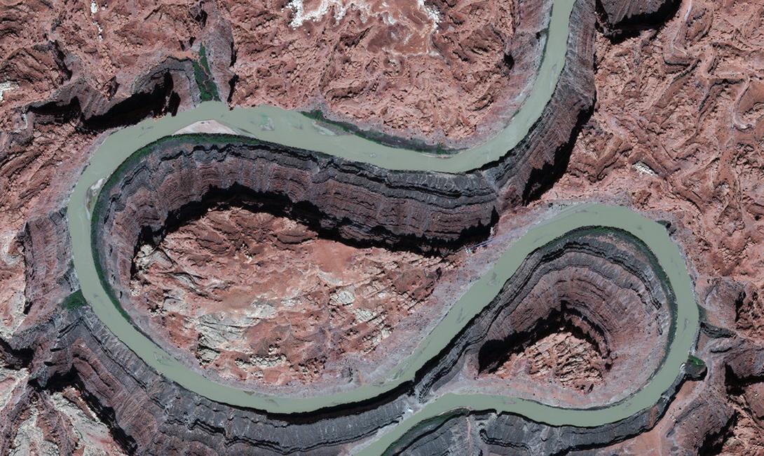 Юта, США Река Колорадо