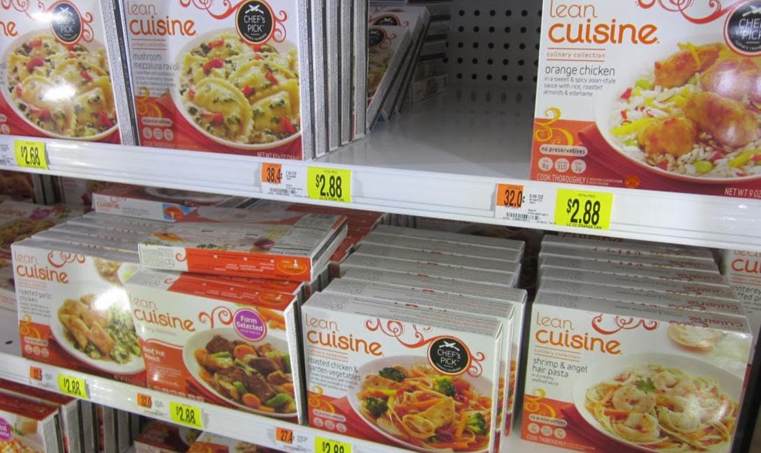 Замороженные готовые обеды Закрытая упаковка: 1 годОткрытая упаковка: 2-3 недели