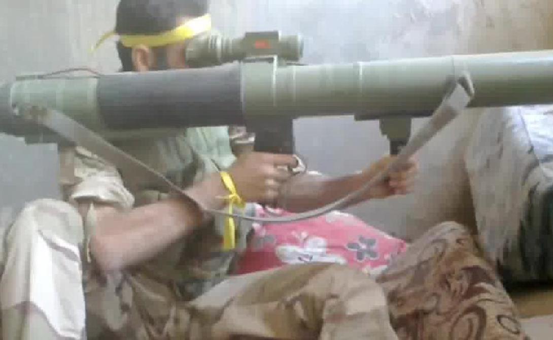 Ракетомет M79 Оса Ракетомет M79 Оса выпускает 90-мм снаряд, который очень эффективен против танков и укрепленных позиций. Поставками «Осы» занимались сирийские повстанцы, ну а ISIS использовали эти ракеты против бронетехники Ирака.