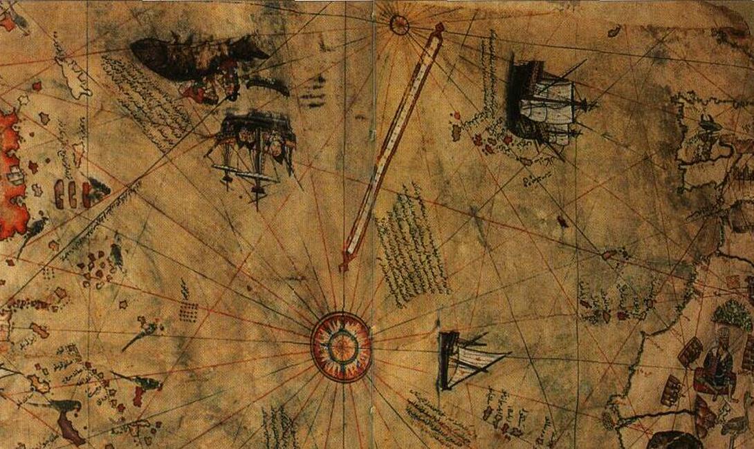 Третья загадка Наибольшее недоверие вызывала у исследователей изображенная на карте Антарктида, официально открытая в 1820 году. Более того, Пири-реис показал ту часть побережья (и она полностью соответствует действительности), которая находится подо льдом. Ее форма стала известна лишь в 1950-ом году — то есть, спустя несколько веков после смерти прозорливого автора.