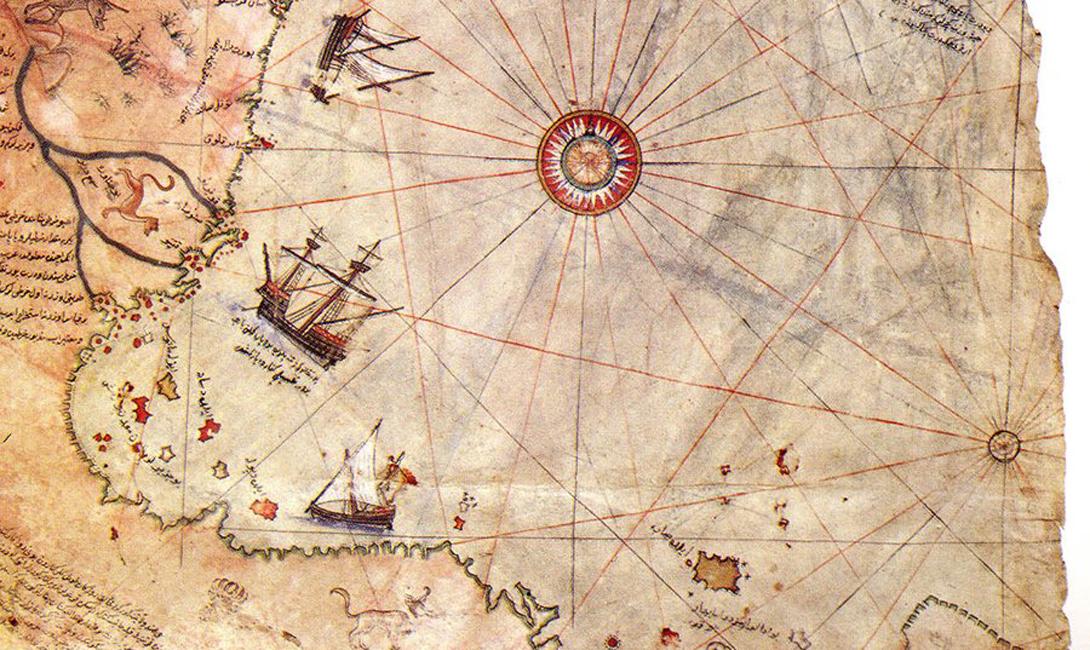 Первая загадка Американский картограф, профессор океанологии Хэпгуд опубликовал работу, согласно которой Пири-реис использовал карты, еще неизвестные человечеству. Авторы этих карт должны были точно знать размеры Земли и, более того, должны были использовать такое техническое оснащение, которое появилось только спустя несколько веков после смерти самого Пири-реиса.