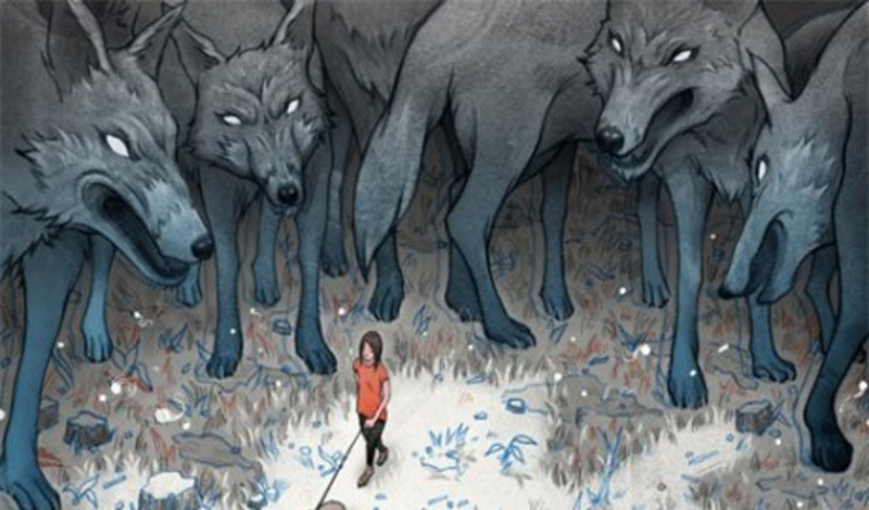 Не бегите Первое, совершенно понятное желание человека, оказавшегося в подобной ситуации —бежать. Не делайте этой ошибки. Охотничий инстинкт подскажет волкам, что вы добыча, а преследование ничем хорошим не закончится.