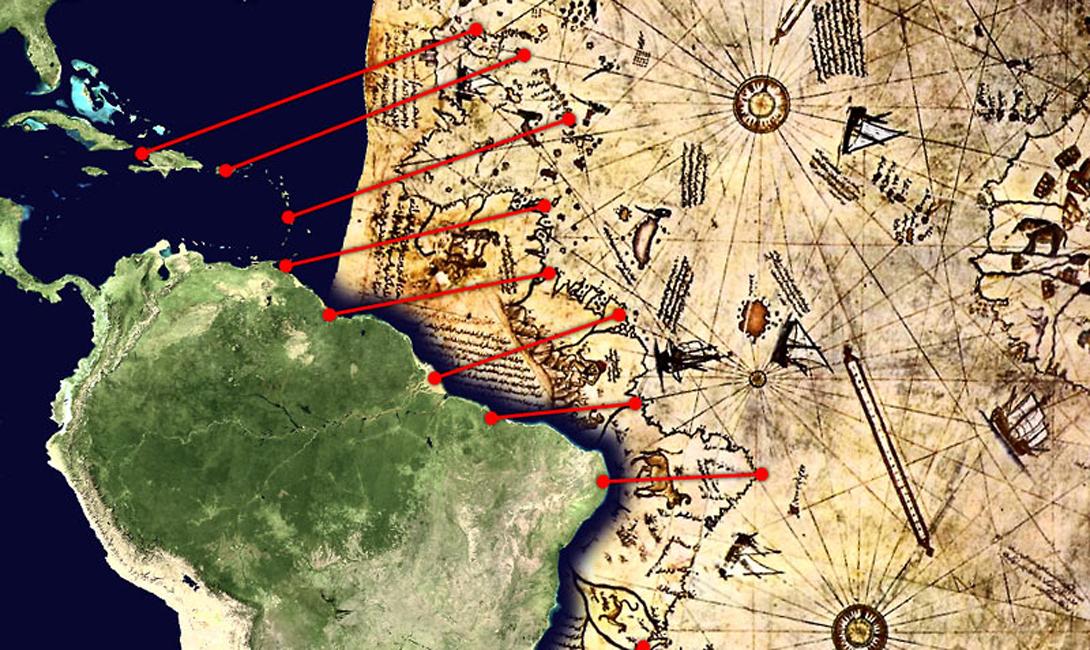 Исчезнувшие мореплаватели Впрочем, ученые уже предложили разгадку невероятной информированности Пири-реиса. Тот же Хэпгуд (которого никоим образом причислить к лжеученым нельзя) заявляет, что единственное приемлемое объяснение — существование некоего доисторического народа, изрядно поднаторевшего в мореплавании. Эти ребята должны были исследовать всю планету целиком — а затем будто бы раствориться в воздухе, оставив после себя лишь отличные карты.