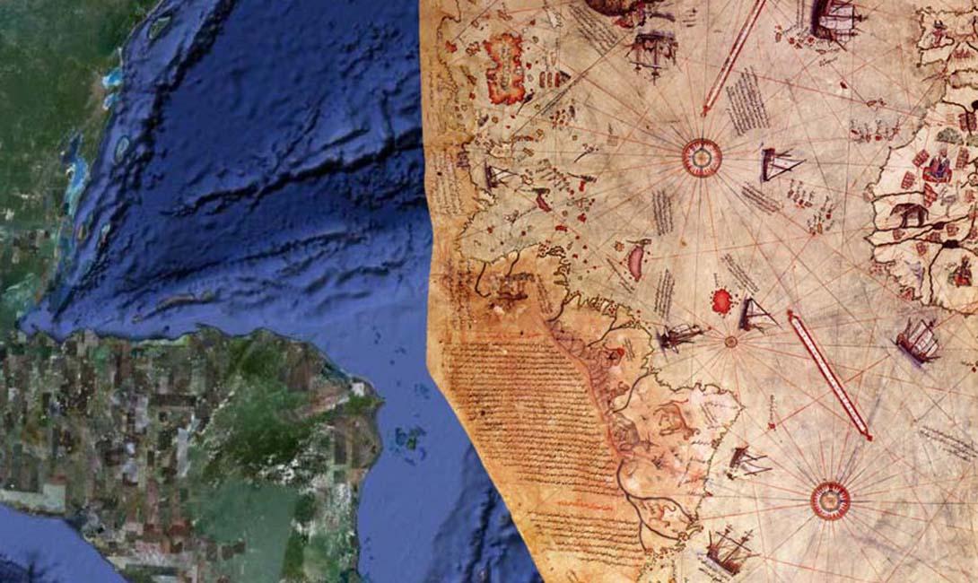 Ваш запрос об оценке некоторых необычных деталей на карте Пири-реиса 1513 года был рассмотрен. Утверждение о том, что в нижней части карты изображены побережье принцессы Марты, Земли королевы Мод, Антарктида, а также полуостров Палмер, является разумным. Мы считаем, что этот вывод является наиболее логичным и, по всей вероятности, правильным толкованием карты. У нас нет идей, каким образом данные на этой карте могут коррелировать с предполагаемым уровнем географических знаний в 1513 году.— Гарольд З. Олмеер, командующий ВВС США