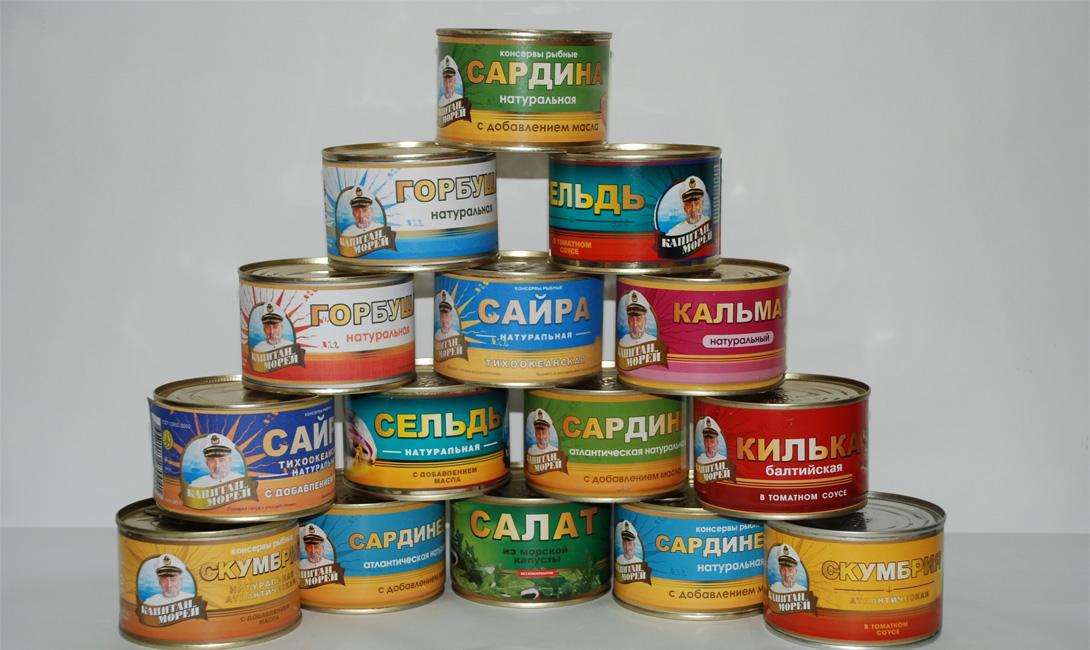 Рыбные консервы Закрытая упаковка: до 9 месяцевОткрытая упаковка: 6 дней