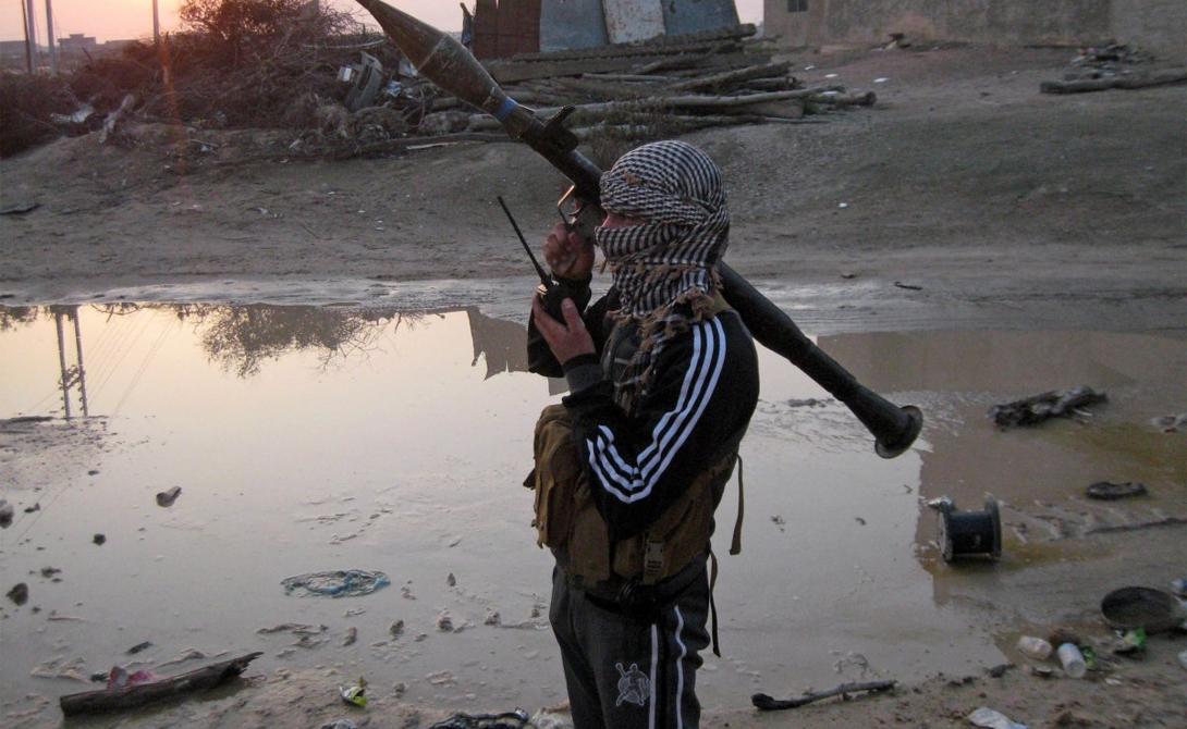 РПГ-7 Ирак просто наводнен RPG-7: иракские силы безопасности, курдские повстанцы и ISIS используют их в равной мере.