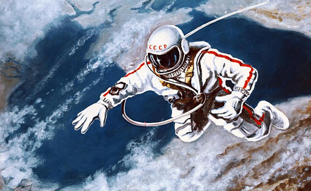 Алексей Леонов, первый человек в открытом космосе, мог бы стать и первым человеком на Луне. Представленная выше альтернативная реальность советского присутствия на спутнике не так уж далека от истины, как вам кажется.