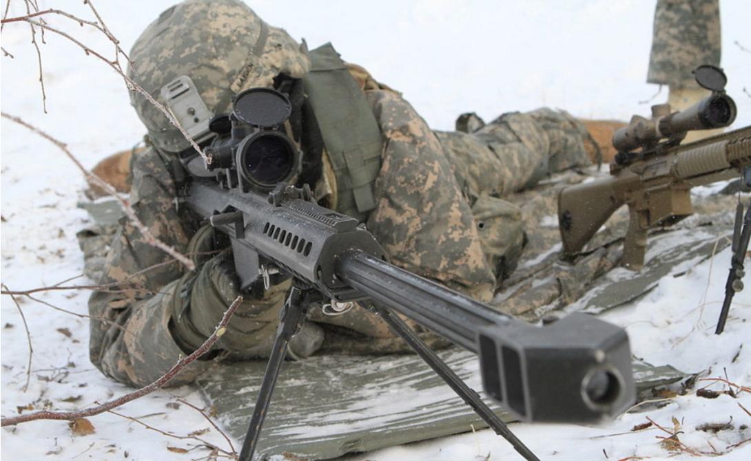 Брайан Кремер Дистанция: 2 285 метра Сержант Брайан Кремер был направлен в Ирак со 2-ым батальоном американских рейнджеров. Миссия этого отряда до сих пор засекречена — известно только, что выстрел снайпера Кремера принес ему славу лучшего стрелка всей операции.