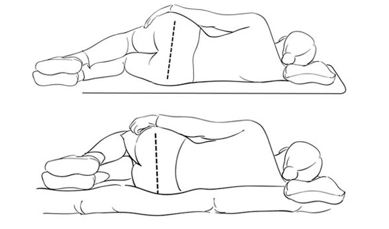 Постоянный контроль Следите за своей осанкой в любой ситуации. Вам, скорее всего, придется отрегулировать и рабочее место, и собственную кровать. Не допускайте расслабленных поз — хотя бы первое время.