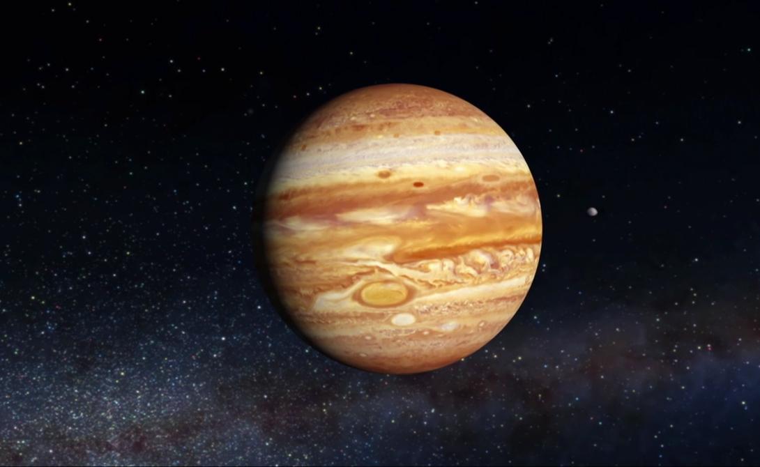 Юпитер Время жизни: 0,03 секунды Наличие хоть какой-то жизни на Юпитере маловероятно: перед нами — газовый гигант. Скорее всего, попавший сюда человек попросту задохнется в аммиачных парах.