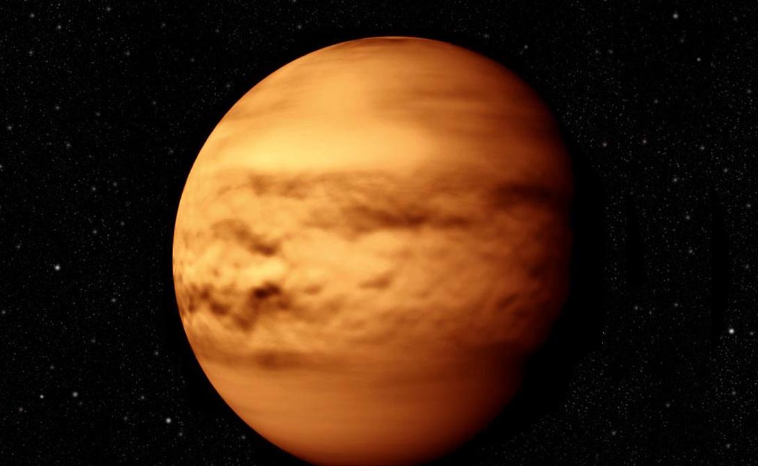 Венера Время жизни: 0,94 секунды Собственно, даже сложно сказать, что погубит человека первым: атмосфера Венеры на 98% состоит из углекислого газа, давление в 92 раза больше земного и, будто этого мало, всю планету окутывают облака серной кислоты. Здесь вполне мог бы располагаться библейский ад — вот только вечные муки сменились бы моментальной гибелью.