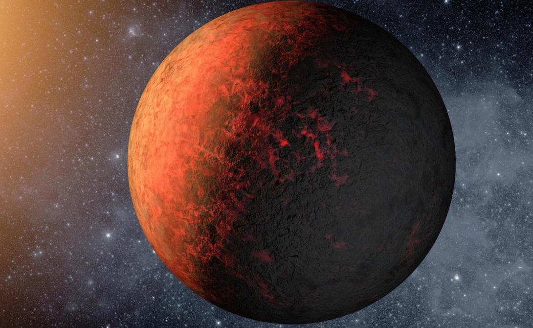 Марс Время жизни: несколько суток Марс — первый кандидат на масштабный переезд всего человечества. Но без терраформирования обойтись не получится: атмосфера здесь на 95% состоит из углекислого газа, а радиация настолько высока, что может убить человека за несколько дней.