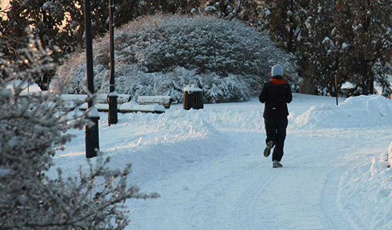 Восстановительный кросс Этот тип кросса нужен тем, кто не собирается проводить зиму в спячке и активно занимается спортом. Восстановительный кросс на низком пульсе улучшает работу капилляров, а значит — способствует насыщению мышц кислородом. Соотвественно, этот способ бега отлично сжигает жир. Мы советуем делать восстановительные кроссы в дни отдыха от основных упражнений. Бегать нужно в невысоком темпе, соблюдая пульс не выше 125 ударов в секунду. Сорокаминутной пробежки будет достаточно. Позаботьтесь о грамотной экипировке: невысокий темп бега не даст вам согреться.