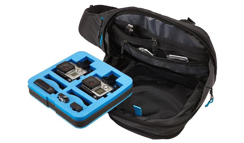 Рюкзак для экшн-камер Thule Legend GoPro Sling Те, кто привык всегда находиться в движении, наверняка оценили преимущества, которые предоставляют всевозможные сумки, рюкзаки и чехлы от шведского бренда Thule. Настало время взять на заметку превосходное качество их продукта и обладателям экшн-камер GoPro, специально для которых были созданы легкие и эргономичные рюкзаки Thule Legend. Модель Sling Pack наверняка понравится тем, кто предпочитает носить рюкзак через одно плечо, сохраняя для себя возможность быстро занять «боевое» положение. Что приятно, так это предоставление удобного доступа к отсеку, вмещающему до двух камер, при полном сохранении безопасных условий транспортировки и ударостойкости. Пожалуй, большего для принятия решения о покупке знать и не требуется.