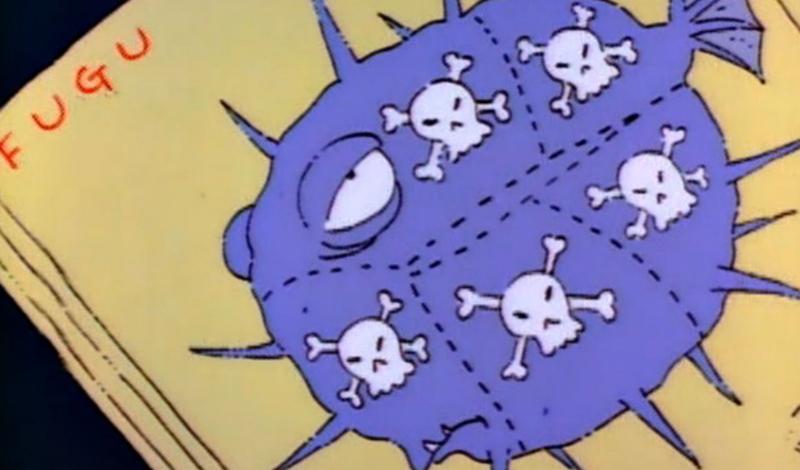 Тетродотоксин Именно этот яд находится в японском деликатесе, рыбе фугу. Тетродоксин не только токсичен, но еще и не имеет противоядия. Он убивает человека, прерывая сигналы между мозгом и телом: отравленного душат собственные мышцы.