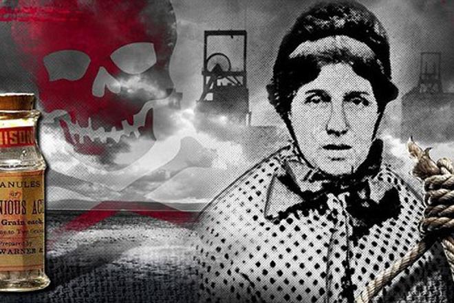 Мэри Энн Коттон Количество убийств: 20 Бывшая медсестра считается одной из самых худших британских убийц — а ведь соревноваться ей пришлось с самим Джеком Потрошителем. В течение двадцати лет Мэри Коттон убила два десятка людей с помощью обыкновенного мышьяка.