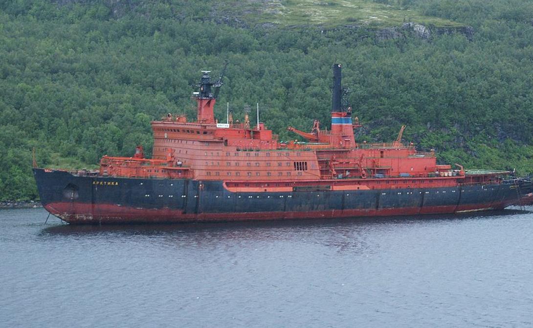 Сначала все ледоколы класса «Арктика» были покрашены в желтый цвет,но выяснилось, что его плохо видно с воздуха, поэтому суда перекрасили вярко-красный или оранжевый.