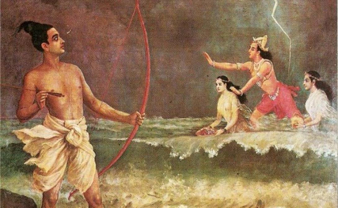 Пашупатастра Индия Пашупатастра считается чуть ли не самым мощным оружием во всей индуистской мифологии. Этот лук мог искоренить все живое одним выстрелом. Создал его сам Шива, вручивший оружие воину Арджуне, чтобы тот сам решал судьбу человечества. По счастью, Арджуна рассудил верно и стрелять из лука не стал.