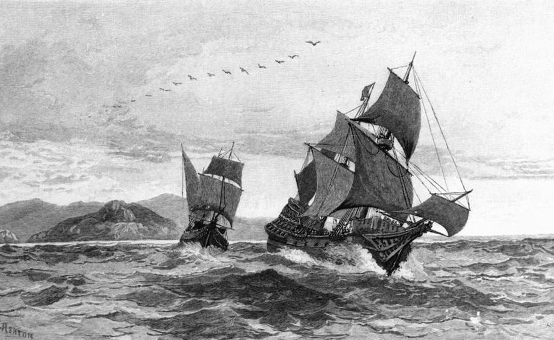 Австралия Луиса Ваэса де Торреса Испанская эскадра из трех кораблей отправилась на поиски загадочной Австралии в 1605 году. Командиром одного из фрегатов был Луис Ваэс де Торрес, отбившийся от основной группы во время шторма. Совершенно случайно мореплаватель наткнулся на Новую Гвинею и принял ее за Австралию — а ведь та находилась всего через пролив. Торрес окончил свои дни в Маниле, будучи свято уверенным в том, что и в самом деле открыл новый таинственный континент.