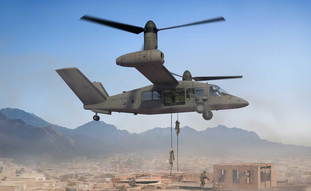 В конструкции использованы датчики следующего поколения, позволяющие пилоту с легкостью обнаружить даже замаскированные объекты противника. Естественно, вертолет будет оснащен и подобающим оружием, чтобы оператор мог передать горячий привет врагу оставаясь на безопасном расстоянии.